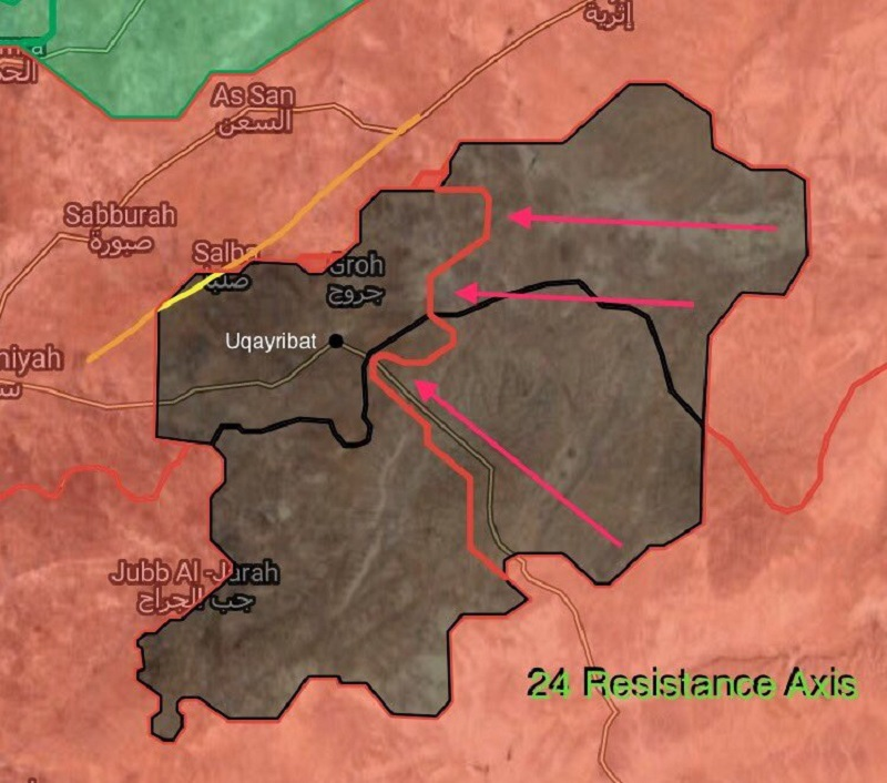 Government Troops Recapture Zakhrutiyah From ISIS In Eastern Hama Countryside (Map)