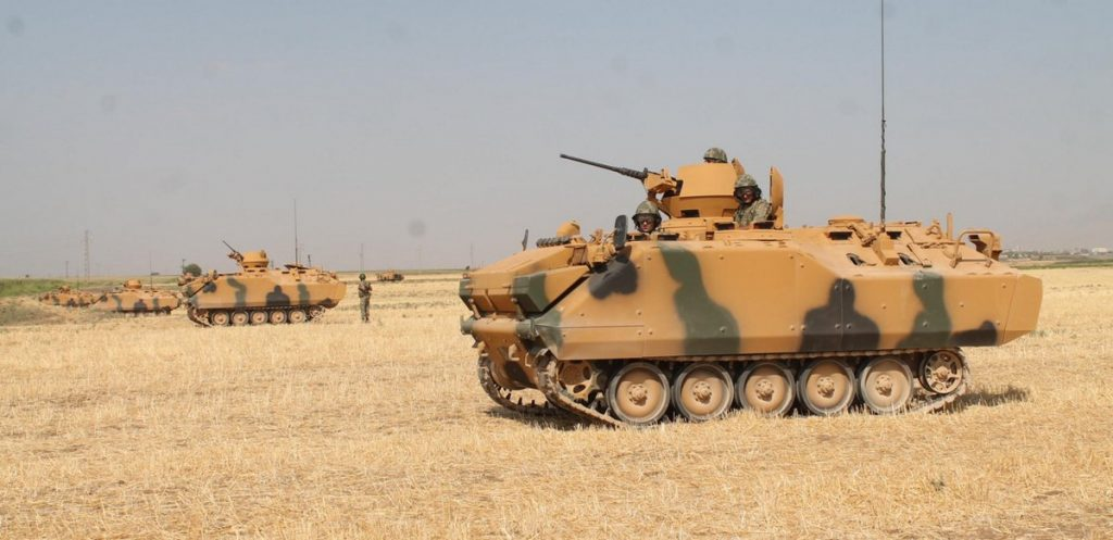 Turkey Deploys Large Number Of Military Equipment On Border With Iraqi Kurdistan