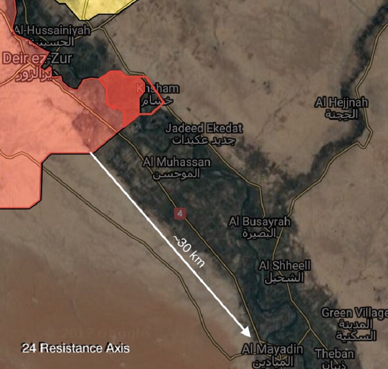 Overview Of Battle For Deir Ezzor On September 19, 2017 (Maps, Video)