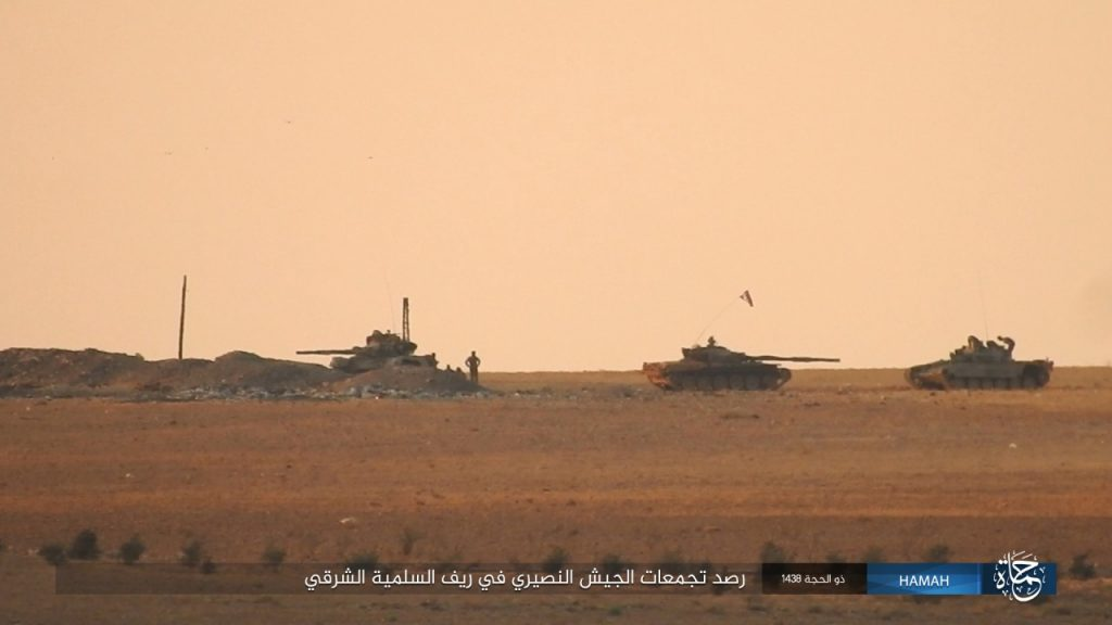 Army Troops Liberated 2 Villages East Of Salamiyah, ISIS Destroyed 2 Battle Tanks (Map, Photos)