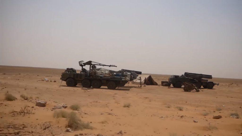 Russian-made BM-27 Uragan Heavy Multiple Rocket Launchers Support Syrian Army Advance In Deir Ezzor (Photos)