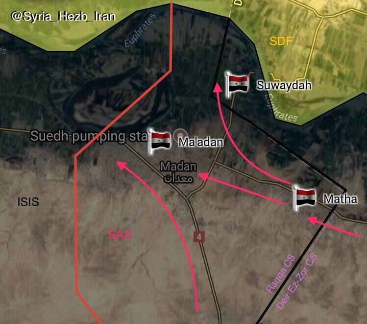 Syrian Army Tiger Froces Recapture Strategic Maadan Town From ISIS