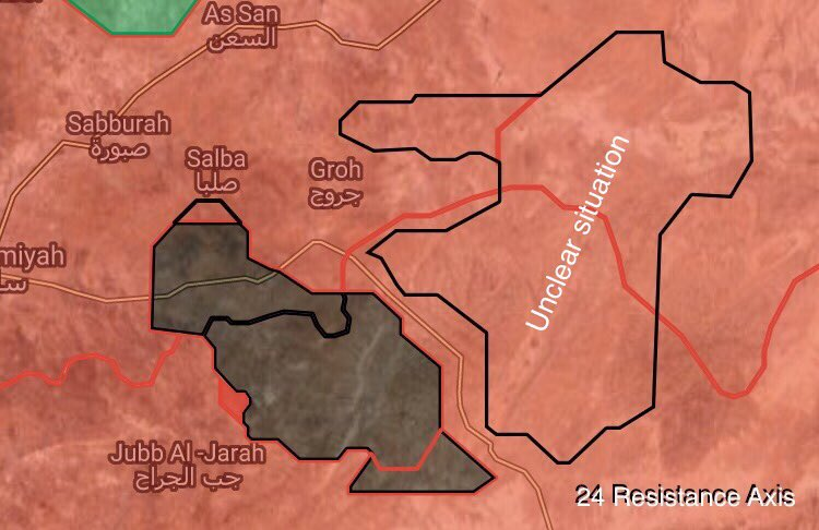 Government Troops Liberated 3 Villages East Of Salamiyah From ISIS (Syria Maps)