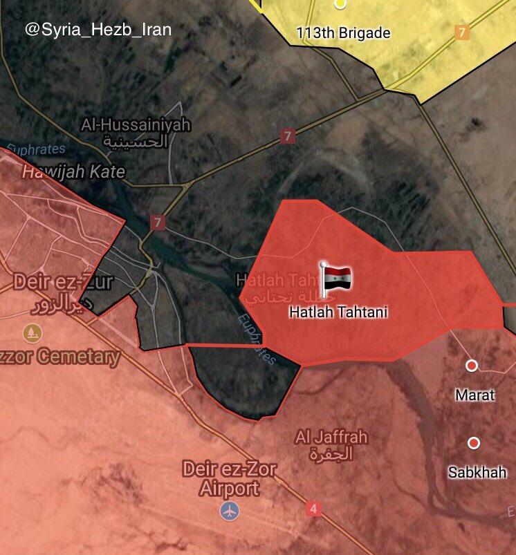 Overview Of Battle For Deir Ezzor On Septemer 26, 2017 (Map, Videos)