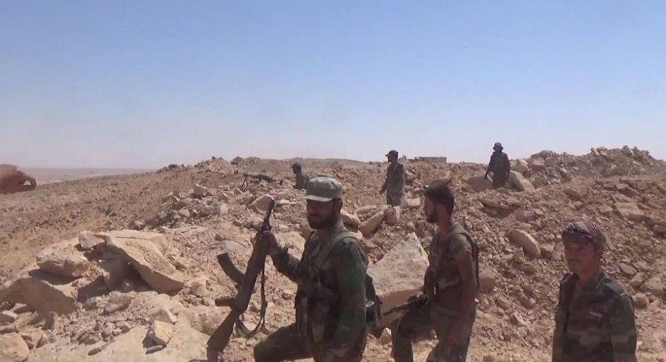 Government Forces Liberated Kobajjep At Sukhna-Deir Ezzor Highway