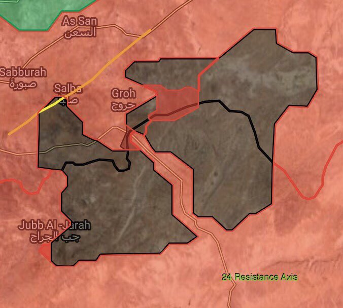 Syrian Army Overruns Imporant ISIS Defense Site In Southwestern Part Of Eastern Hama Pocket (Maps)
