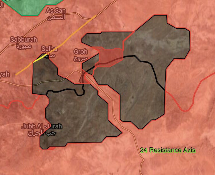 ISIS Retreats From Um Saj Village In Eastern Hama (Syria Map Update)