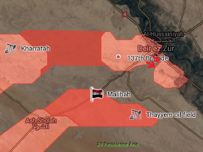 Syrian Army Broke ISIS Siege On Strategic Deir Ezzor Airport - Syrian MoD