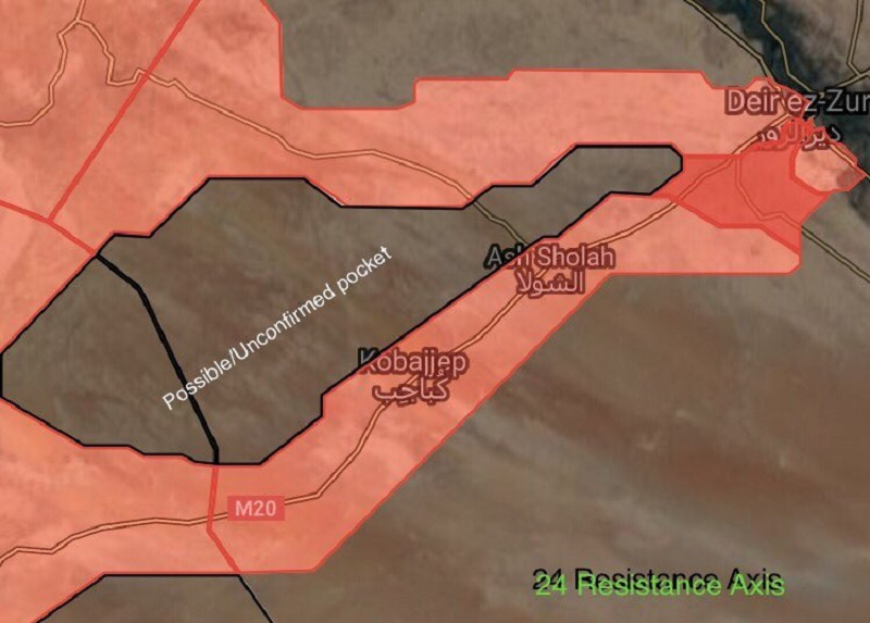 Pro-Govt Forces Prepare For Final Push To Liberate ISIS-held Neighborhoods Of Deir Ezzor City
