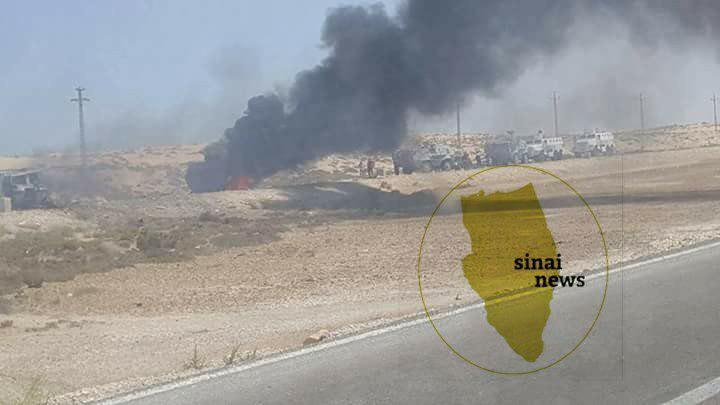 Egypt: ISIS Ambushes Large Police Column In North Sinai. 18 Officers Killed (Map, Photos)