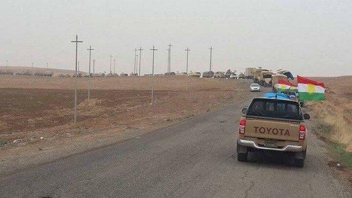 Kurdish Peshmerga Deploys Forces In Kirkuk City To Opress Resistance To Upcoming Independence Referendum