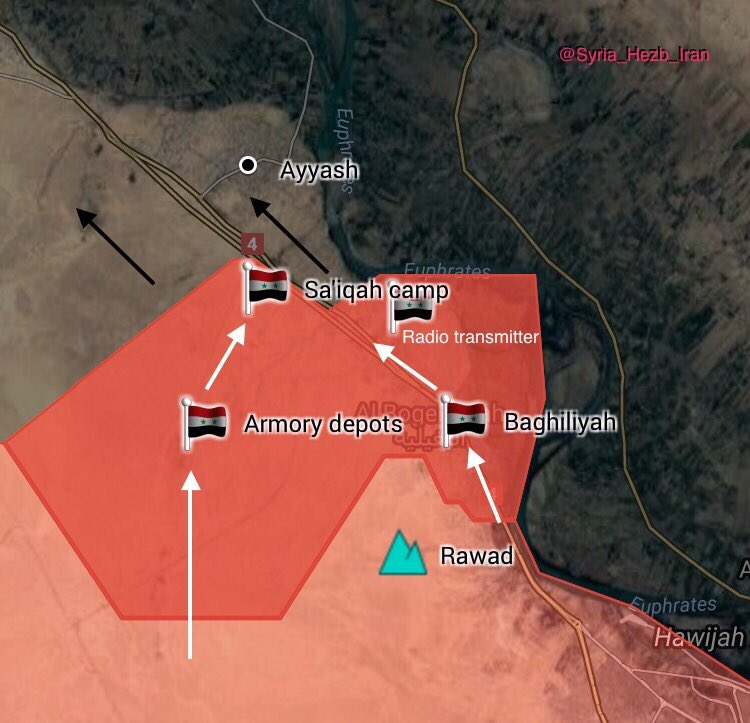 Overview Of Battle For Deir Ezzor On September 14, 2017 (Evening Update)