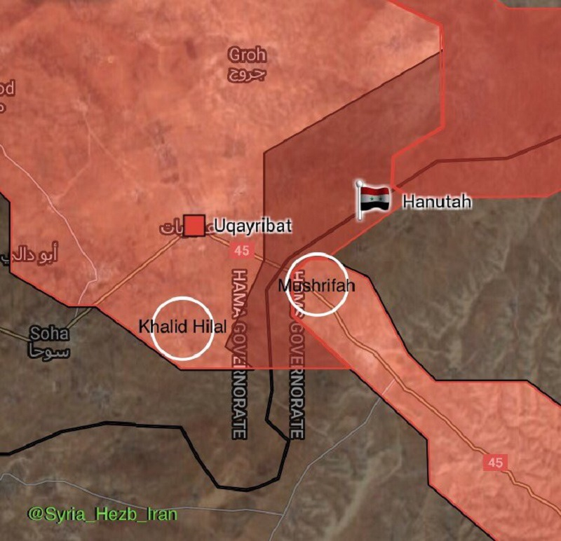 Syrian Army Retakes 6 Villages From ISIS In ISIS-held Pocket East Of Salamiyah (Maps)