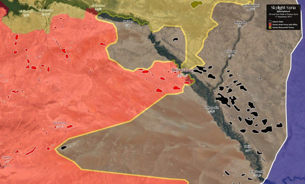 Overview Of Battle For Deir Ezzor On September 17, 2017 (Maps, Analysis)