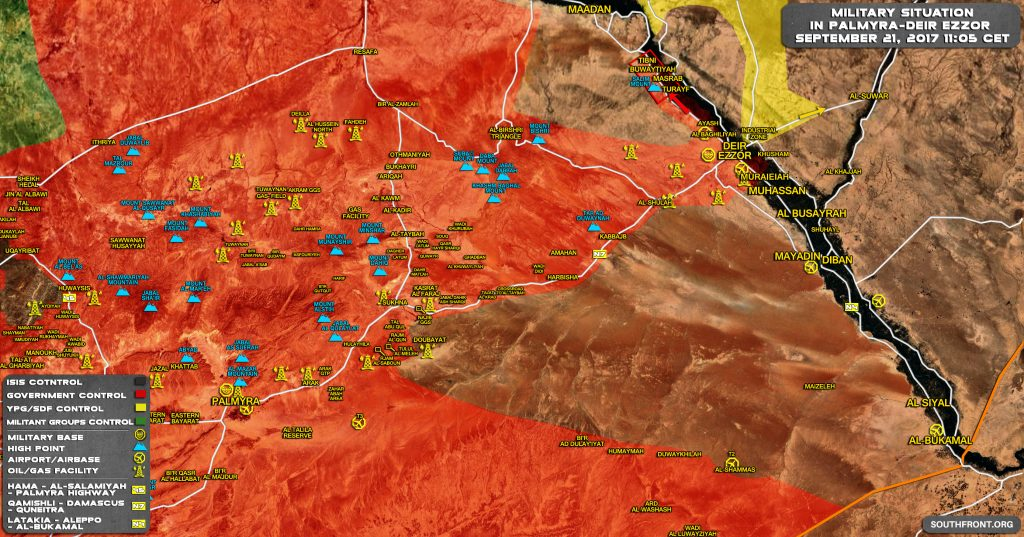 Overview Of Battle For Deir Ezzor On September 20-21, 2017 (Maps, Photos, Videos)