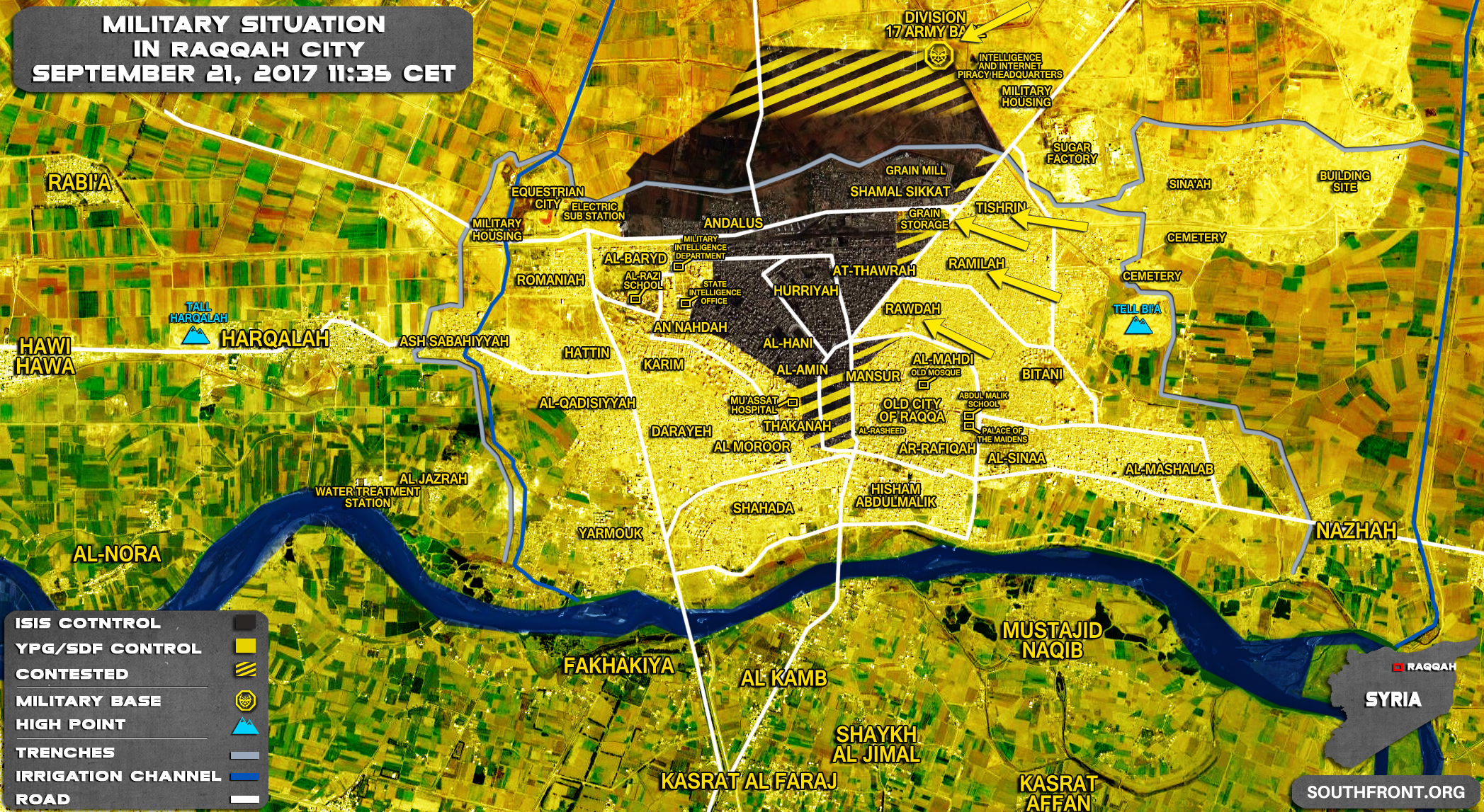 Backed Forces Took Full Control Over Neighborhoods Of Raqqah Map - Map of the us took over the world