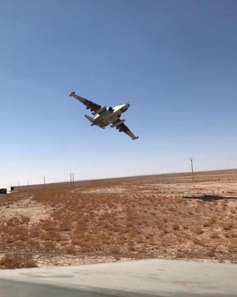 Photos: Russian Sukhoi Su-25SM Attack Aircraft In Deir Ezzor Province