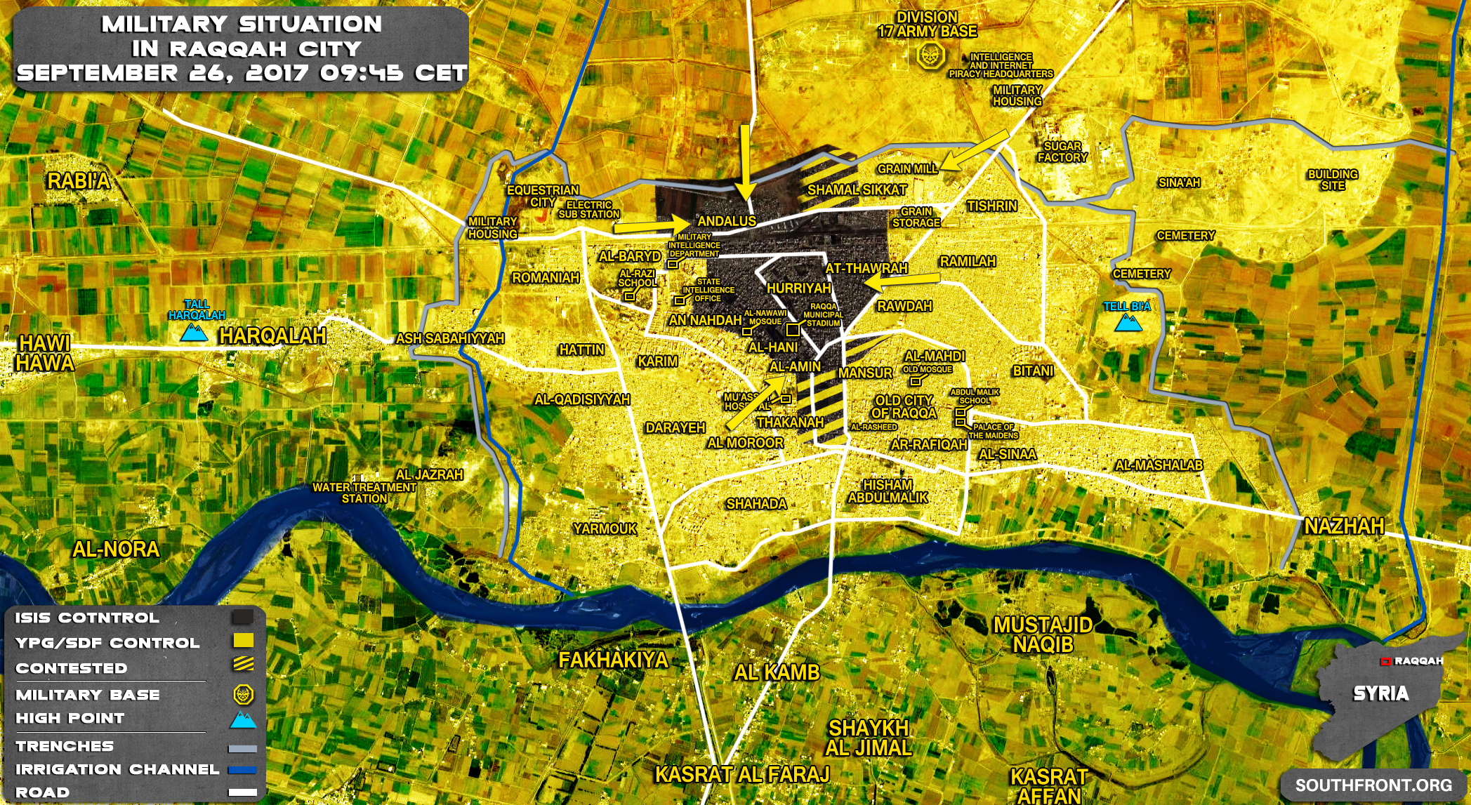 [BIZTPOL] Szíria és Irak - 7. - Page 3 26sep_Raqqah_city_Syria_War_Map