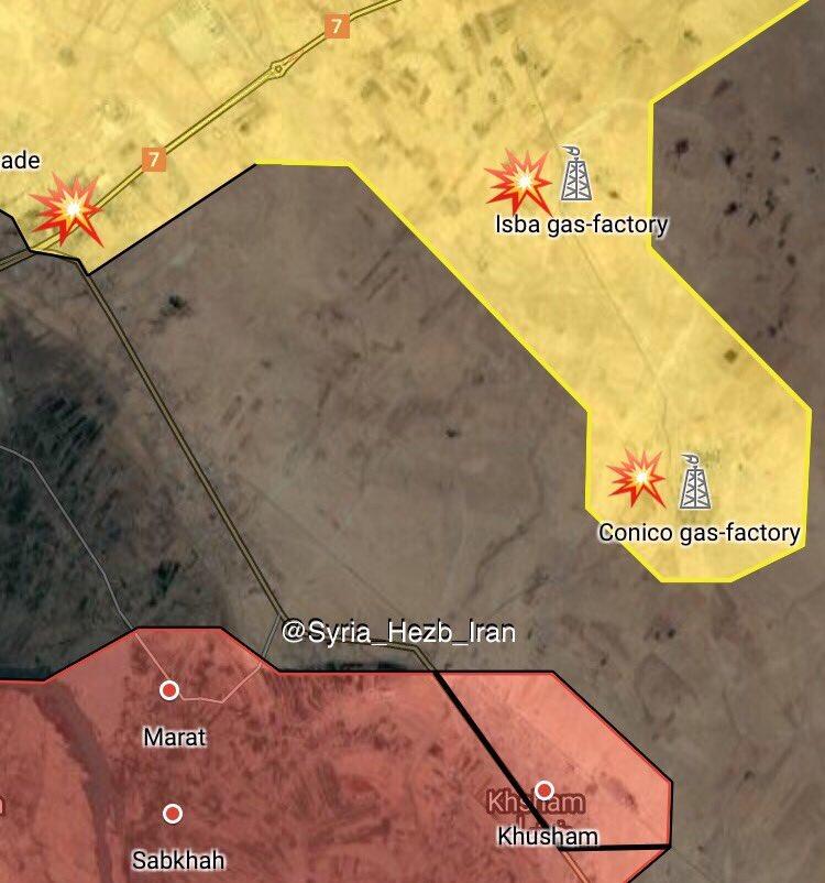 Overview Of Battle For Deir Ezzor On September 25, 2017 (Maps, Video)