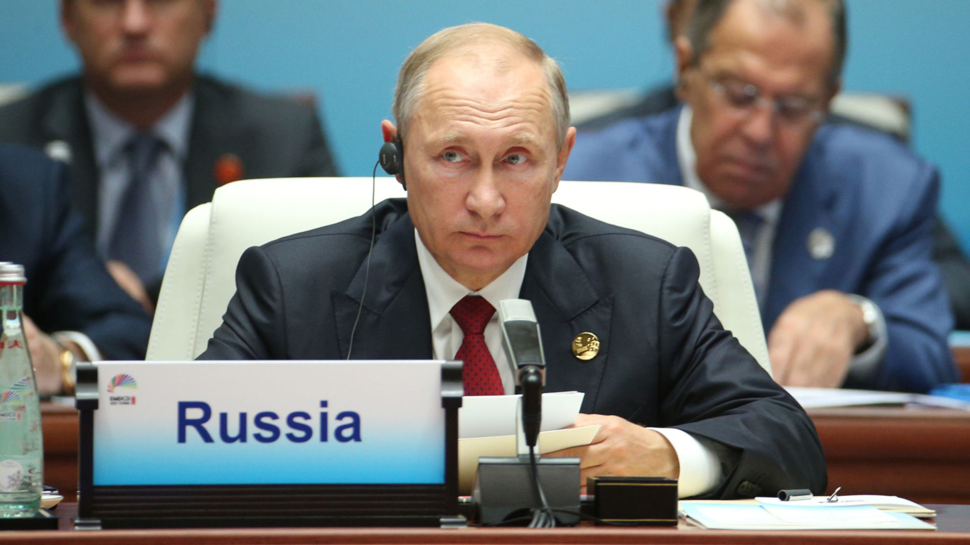 """Image result for Vladimir Putin who says that """" Ramping up military hysteria in such conditions is senseless; it's a dead end,"""""""