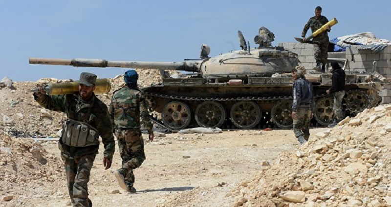 Syrian Army Captures More Positions On Border With Jordan