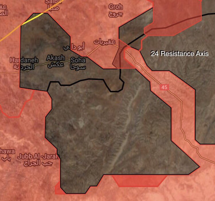 ISIS-held Area Shrinks In Eastern Salamiyah Countryside As Government Troops Liberate 3 More Villages