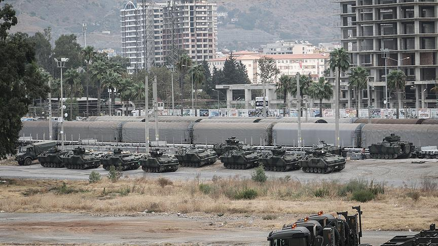 Turkey Deploys Large Force, Including 80 Armoured Vehicles, On Border With Syria's Idlib Governorate (Videos, Photos)
