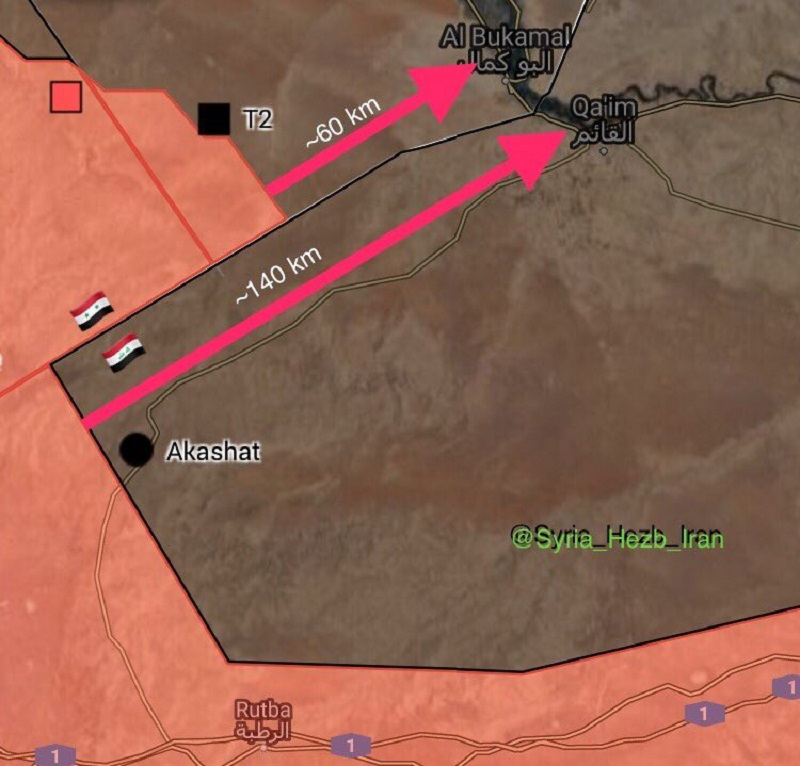 Syrian Army And Hezbollah Launch New Operation On Syrian-Iraqi Border (Maps)