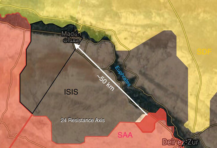 Overview Of Battle For Deir Ezzor On September 17-18, 2017 (Maps, Photos, Videos)