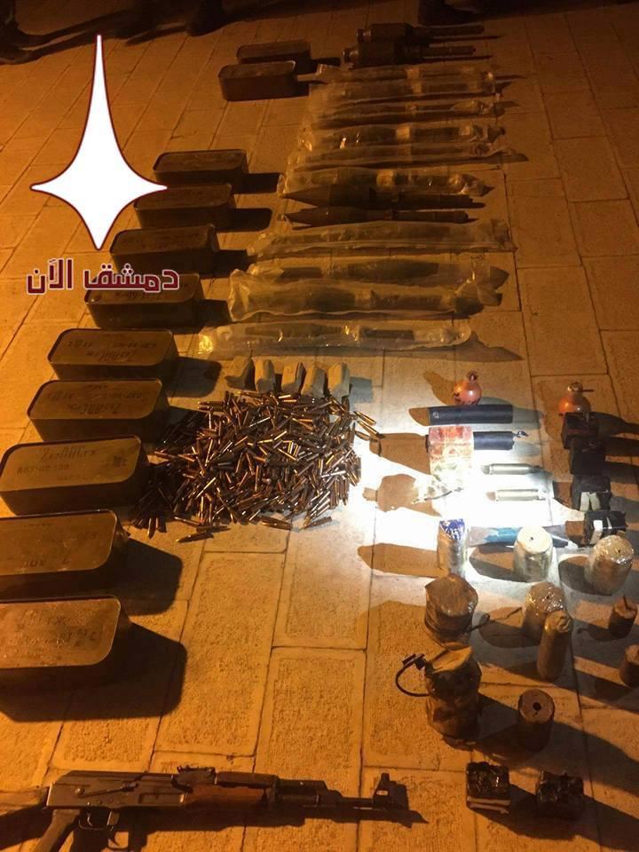 Syrian Army Attacks Hayat Tahrir Al-Sham Positions In Damascus Countryside