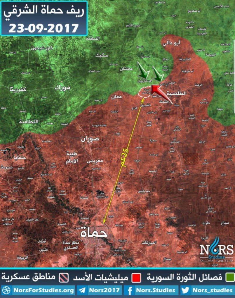 Hayat Tahrir al-Sham Seizes Back Villages It Lost In Northern Hama. Russian Air Power Purges 75 Militants In Eastern Idlib
