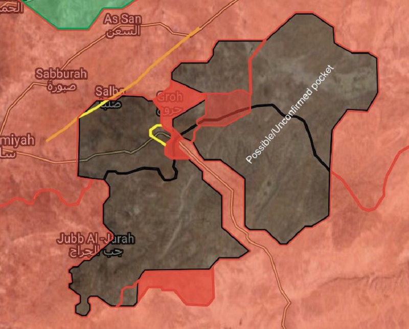Government Forces Progress In Uqayribat Area (Maps)
