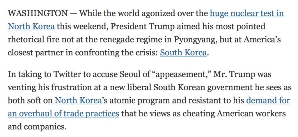 """North Korea: """"Annihilation"""", """"Massive Military Response"""" or Economic Warfare?"""