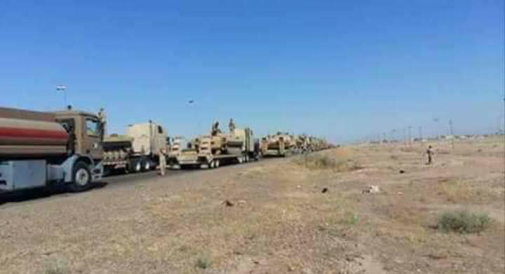Iraq Deploys Troops, Sets Up Floating Bridges Ahead Push On ISIS Stronghold Of al-Hawija (Photos)