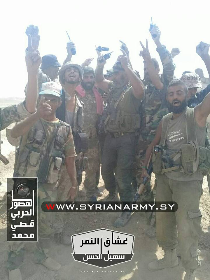 Photos: Republican Guard Gen Issam Zahreddine And Tiger Forces Troops In Deir Ezzor