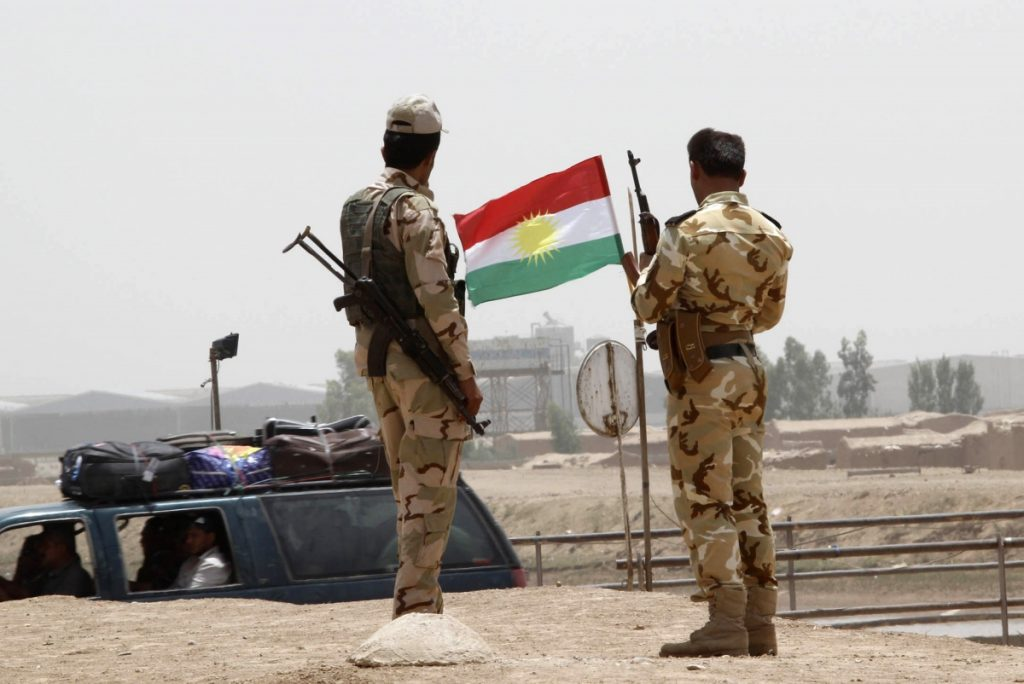 Kurdish Peshmerga Deploys Forces In Kirkuk City To Opress Resistance To Upcoming Independence Referendum