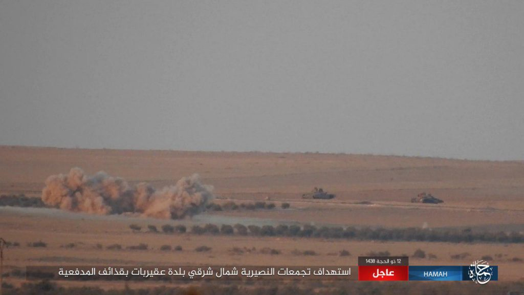 ISIS Defense Collapsed In Eastern Hama Pocket (Photos, Video, Map)