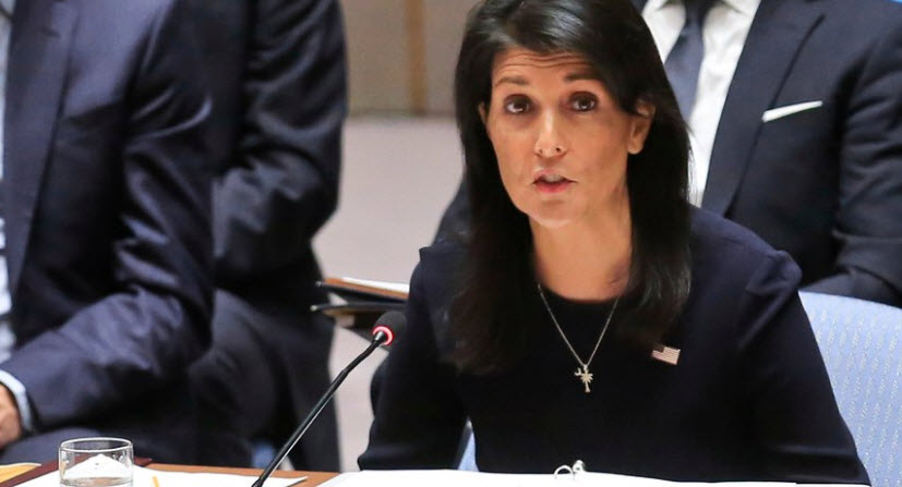 """North Korea Is """"Begging For War"""": Haley Tells UN """"The Time For Half-Measures Is Over"""""""