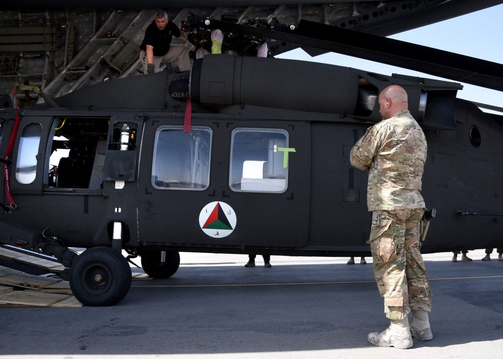 US Delivers Two UH-60 Black Hawk Helicopters To Afghan Air Force (Photos)