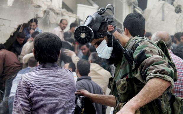 Chemical Weapons Use in Syria and the Decline of International Institutions