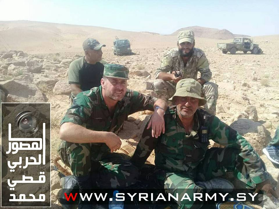 Photos: Tiger Forces And Other Pro-Government Factions En Route To Deir Ezzor