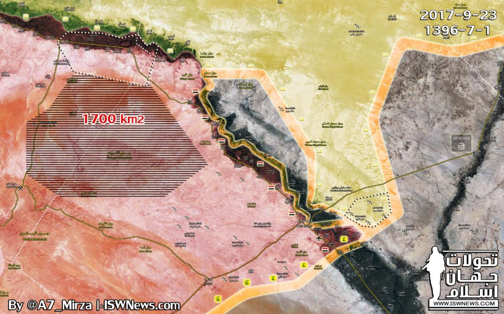 Overview Of Battle For Deir Ezzor On September 24, 2017 (Map, Videos, Photos)