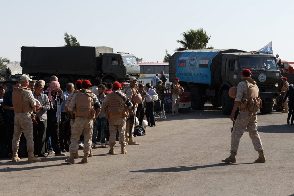 Russian Service Members Provide Humanitarian Aid In Syria's Dar al-Kabirah (Photo Report)