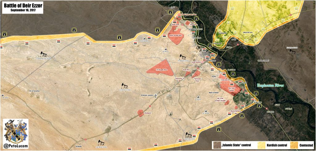 Reports About Airstrikes On US-backed SDF North Of Deir Ezzor Further Fuel Tensions Between SAA And SDF