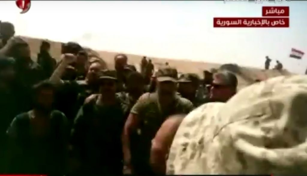 Video: Government Troops Met With Defenders Of Deir Ezzor In 137th Brigade Base Area