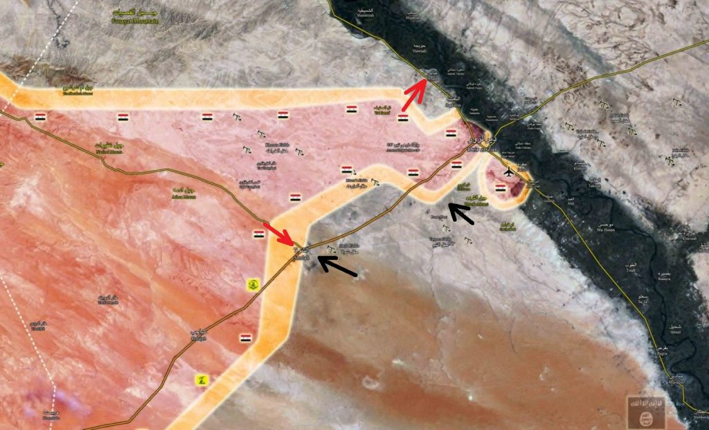 Overview Of Battle For Deir Ezzor City On September 8, 2017 (Maps, Videos, Infographics)
