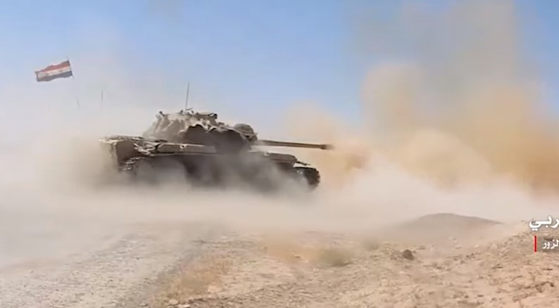 Video: Government Forces Breaking ISIS Siege On Deir Ezzor Airport