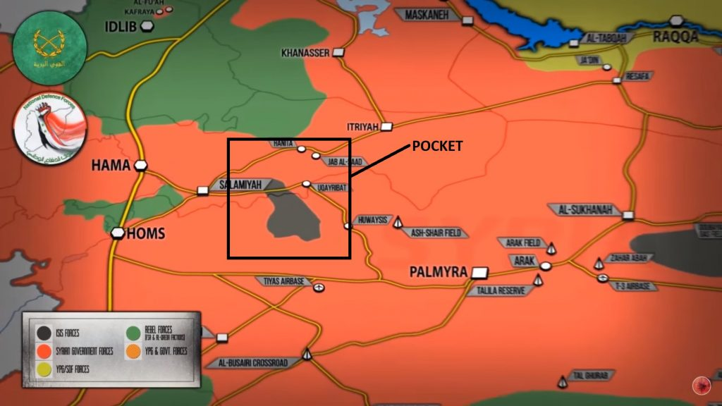 ISIS Fighters To Withdrew From Eastern Hama Pocket Under Deal With Syrian Government Forces