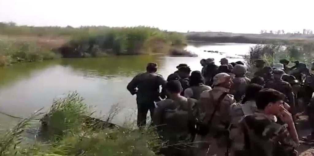 Video: National Defense Forces Crossing Euphrates To Saqr Island Near Deir Ezzor City