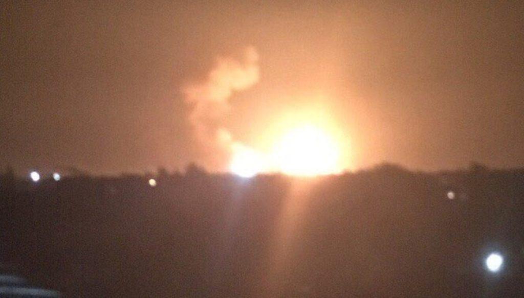 """Kiev Government Blaims """"Saboteurs"""" For Munition Depot Fire In Ukraine's Vinnytsia"""